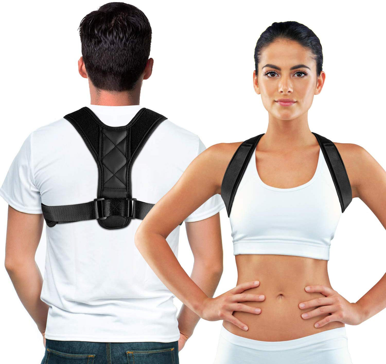Adjustable Posture Corrector Braces Supports Back Straightener Clavicle Spine Back Shoulder Lumbar Posture Correction