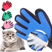 Cleaning-Glove Deshedding-Tools Cat-Brush Pet-Grooming Bath-Clean Silicone Finger