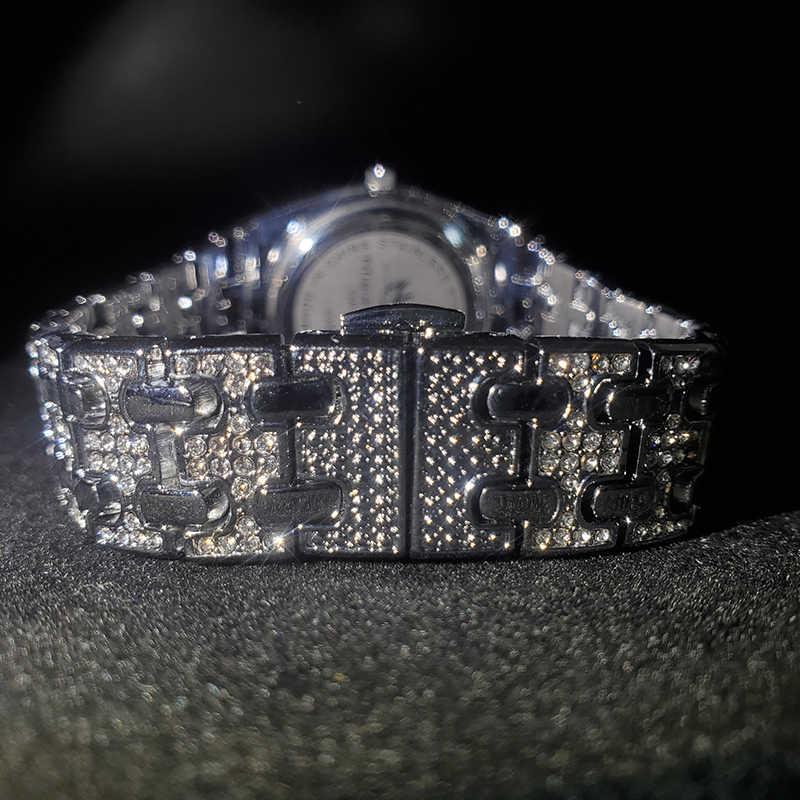 MISSFOX כסף נשים של שעון שמלה מזדמן גבירותיי שעון אופנה עמיד למים פלדת קוורץ יד שעונים נשים חג האהבה מתנות