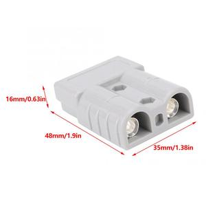 Image 4 - 10Pcs Anderson Battery Power Connector 50A 600V 16mm2 6AWG Cable Terminal