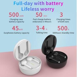 Image 4 - DAG TW40 TWS Wireless Bluetooth 5.0 Earphones Super Bass 6D 3D HiFi Stereo Headset Handsfree Call Sport Dual Earbuds Built in HD