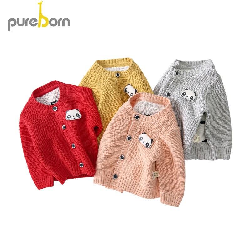 Toddler Baby Boys Girls Decor Pattern Sweaters Soft Winter Warm Cardigan Coat