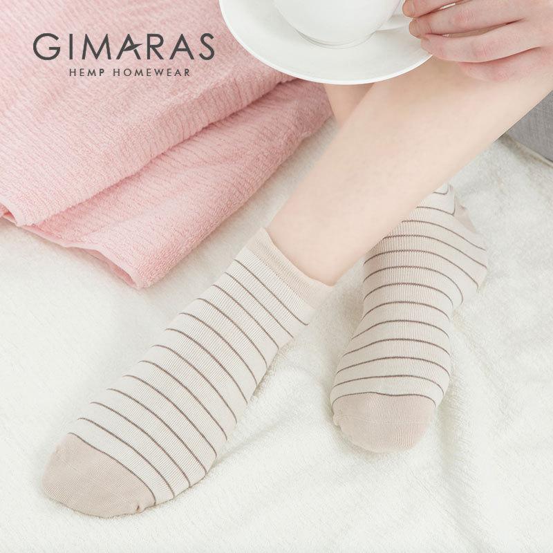 Ji Linen Benign Silk Stink Prevention Hosiery Children Han Linen Antibacterial Deodorizing Spring Summer WOMEN'S Socks Cotton So