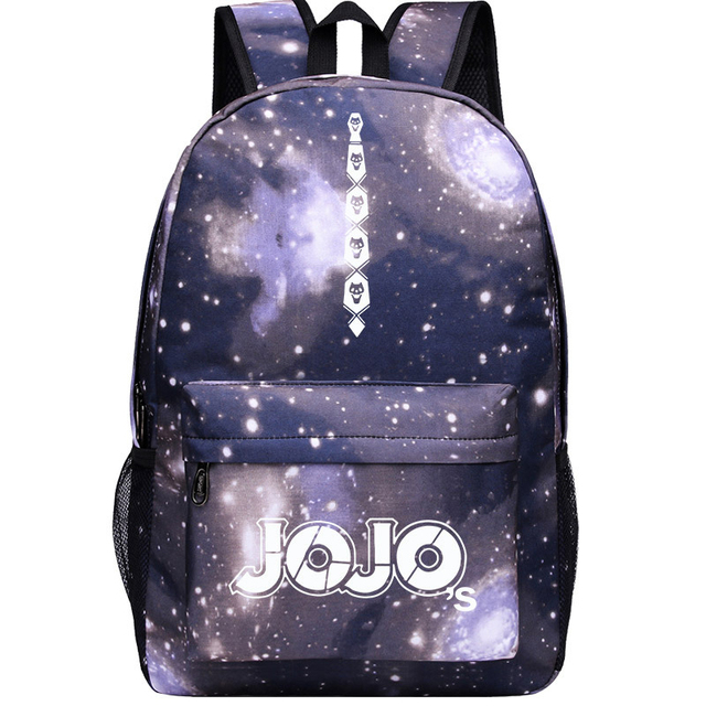 JoJo's Bizarre Adventure Giorno Giovanna  Bruno Bucciarati Cosplay Anime Accessory Backpack School Bag Oxford Cloth Adult Men Ms 4