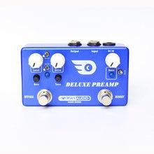 Mosky deluxe preamp 2-em-1 efeito de guitarra pedal impulso clássico overdrive efeitos true bypass completa concha de metal peças de guitarra