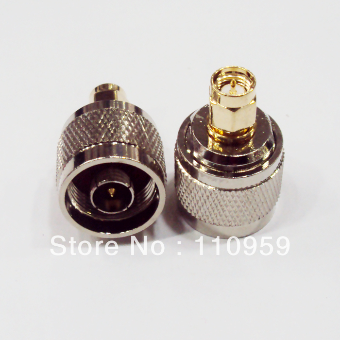 DHL/EMS N-SMA-50JJ (50 Ohms) RF Head Connector / Adapter N Male To SMA Male-A2