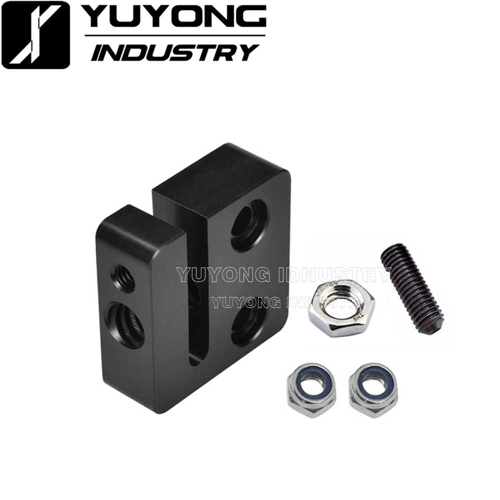 Anti-Backlash Nut Block Delrin for 8mm lead Screw Acme Rod CNC C-Beam 3D TR8*8