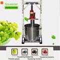Коммерческая дробилка для фруктов из нержавеющей стали фильтр для разделения шлака пресс для домашнего сока дистиллятор