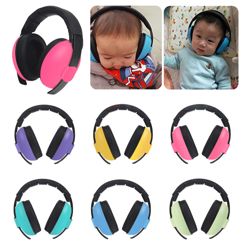 Baby Noise Reduction Headphones Kids Ear Muffs Loud Cancelling Hearing Safety for Children up to 0-3 Years Old