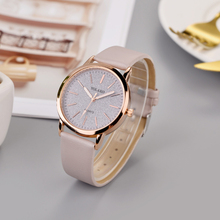 Best Selling New Models Business Women's Watches Dial Ladies Simple Quartz Fashion Wristwatch Casual Leather Strap Clock Watch fashion leather strap beautiful watches for gifts elegant classic casual analog business quartz wristwatch
