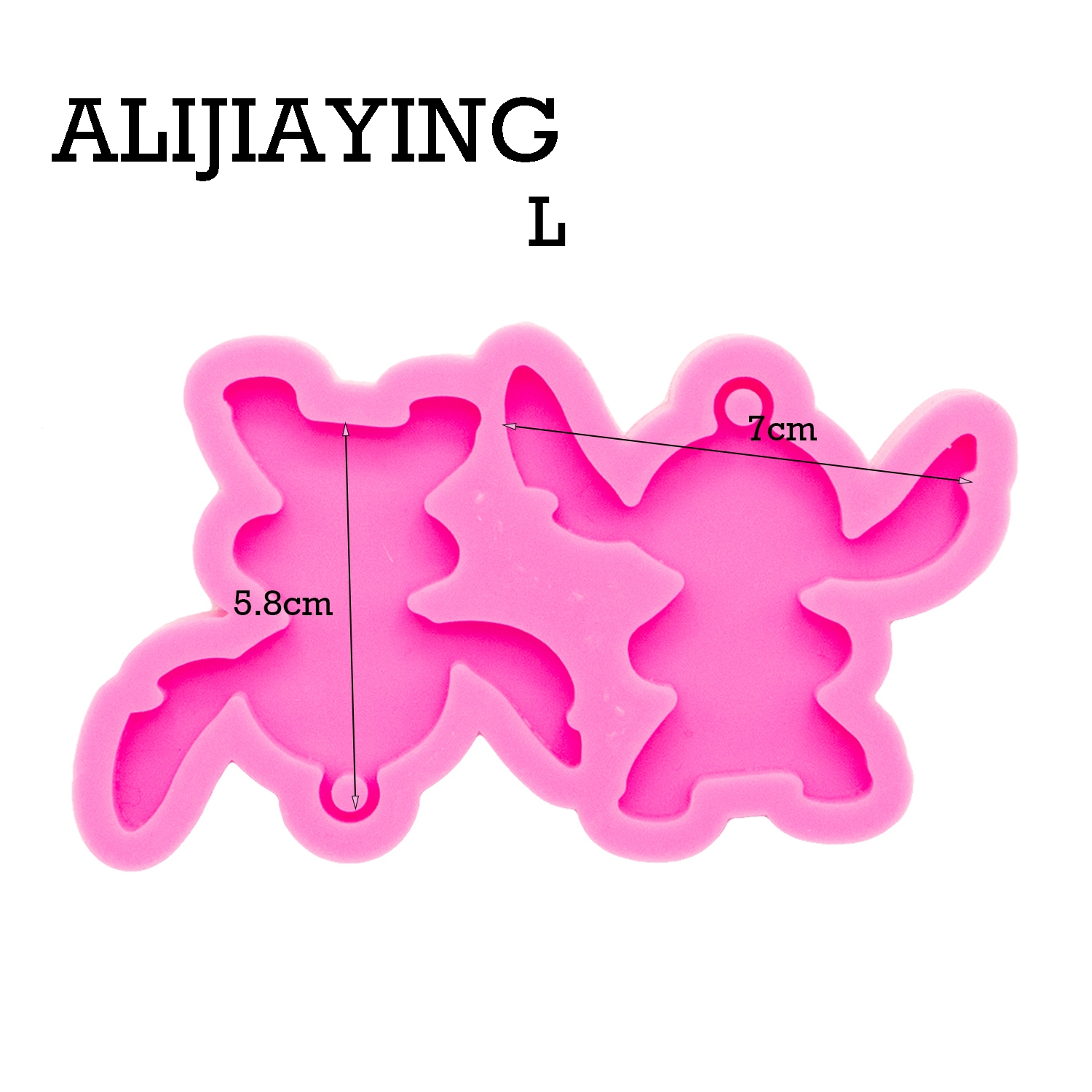 DY0364 Shiny plane Anime Earrings Silicone Mold DIY Craf Mould Epoxy Resin Custom Mold 100% Food Grade Silicone
