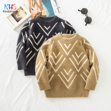 2019 Autumn Boys Sweaters Baby Boys Girls Turtleneck Sweaters Turtleneck For Girl Winter Knitted Bottoming Clothes DC189 недорого
