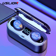 Wireless LED Bluetooth 5.0 Earphone Stero Earbuds With Microphone For Xiaomi Noise Canceling Earphone With Power Band