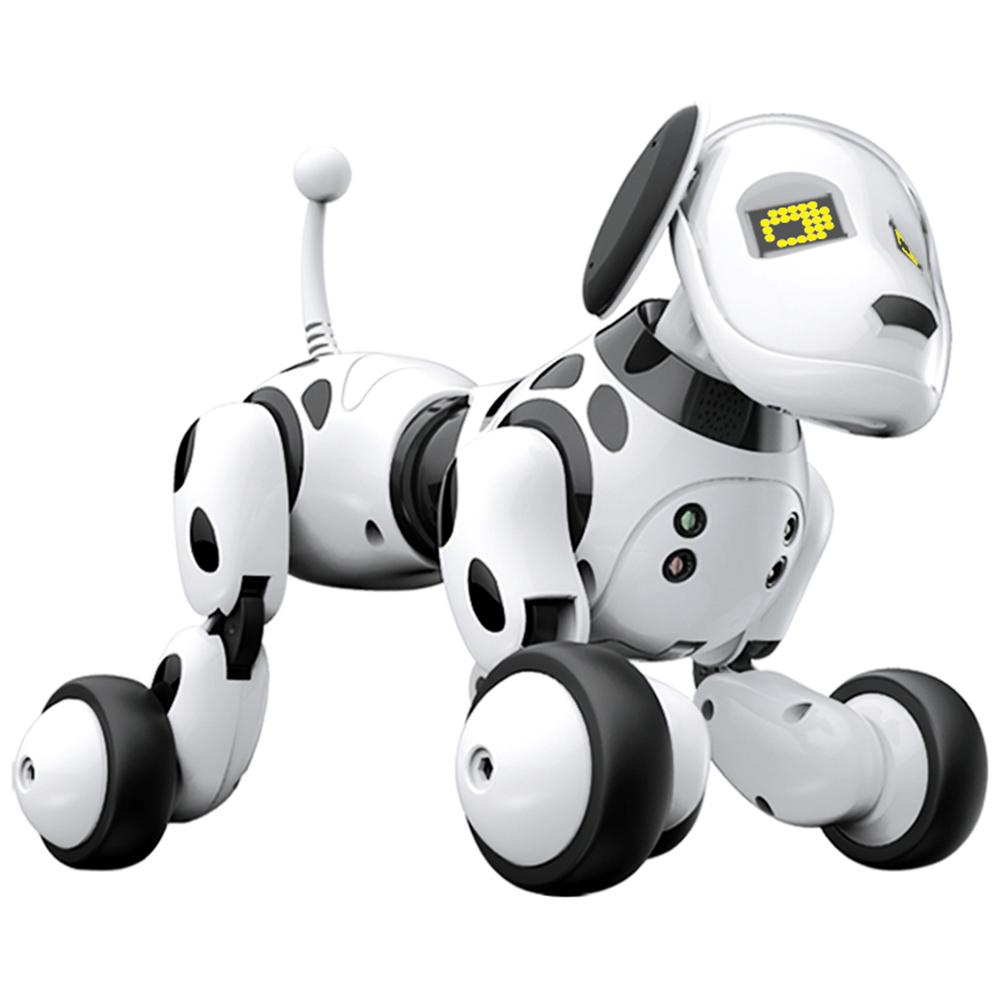 Newest High Quality Wireless Remote Control Pet Smart Robot Dog Toys Talking Dog Robot Electronic Pet Toys Gifts For Children