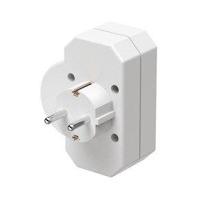 Image 5 - 16A ab soket ab avrupa almanya AC güç adaptör fiş duvar soketi anahtarı düğmesi güç çıkışı