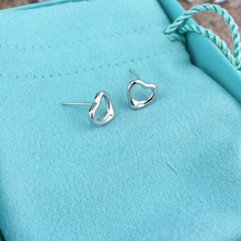 SHINETUNG S925 Sterling Silver simple temperament heart-shap