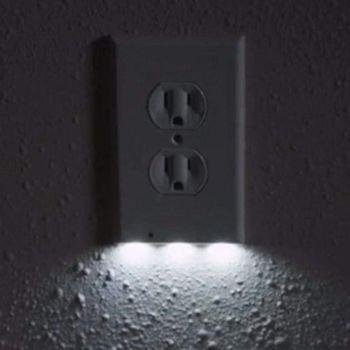 LED sensor night light socket cover - sale item Electrical Equipment & Supplies