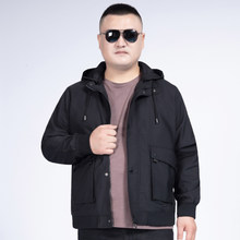 Plus 10XL 8XL 6XL 5XL 4X 2020 New Autumn Winter Hooded Zipper Jacket Men Streetwear Bomber Jacket Windbreaker Mens Basic Jackets(China)