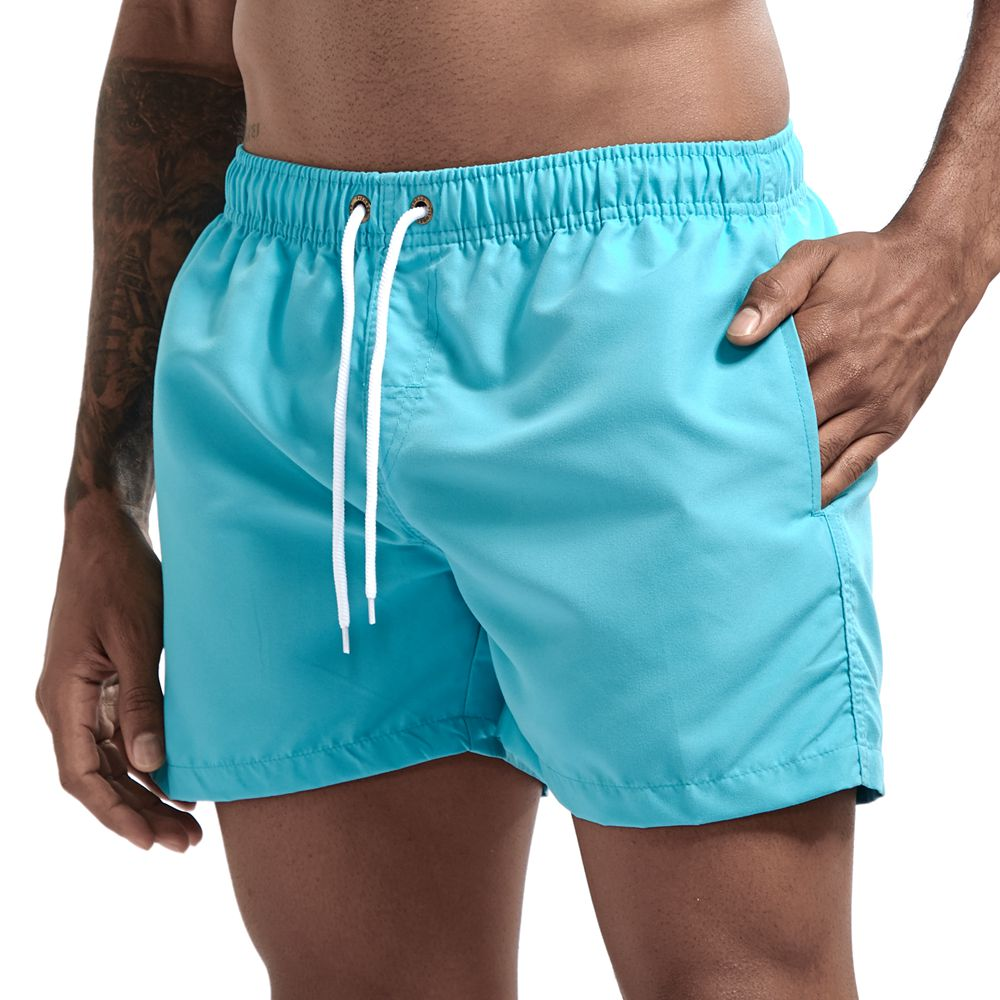 Pocket Swimming Shorts For Men Swimwear Man Swimsuit Swim Trunks Summer Bathing Beach Wear Surf  beach Short board pants Boxer 3