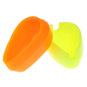 Fishing Feeder Method Mould Carp Bait Quick Durable Nontoxic Release Fishing Mould Orange/Green Feeding Form Tool