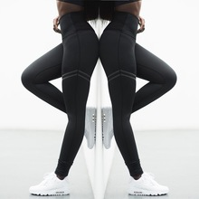 gym leggings sports women fitness pantyhose wourkout printed yoga pants tight slim high elastic running leggings leggins mujer women fitness yoga pants sports running breathable printing elastic slim tight leggings plus size high waisted gym clothes yk30