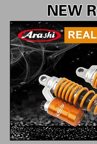 Arashi 360mm //14 Shock Absorber Rear Suspension Universal for TRIUMPH Bonneville 2007-2015 SE 2009-2015//Scrambler 2006-2015//Thruxton 900 2005-2016 Sport//Street//Vintage Bikes Motorcycle Accessories