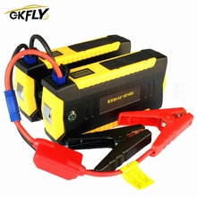 Car-Battery-Charger Cables Power-Bank Jump-Starter Buster Starting-Device Gkfly-Car Diesel