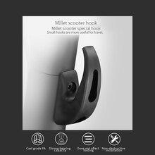 Практичный передний крючок для скутера Xiaomi M365, аксессуары для электрического скутера, портативная энергосберегающая легкая вешалка для скутера