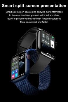 DT100 Plus Smartwatch Men Women Bluetooth Call Custom Dynamic Watch Face PK HW22 Smart Watch 2021 IP67 Waterproof 320 385 1.75″ 6