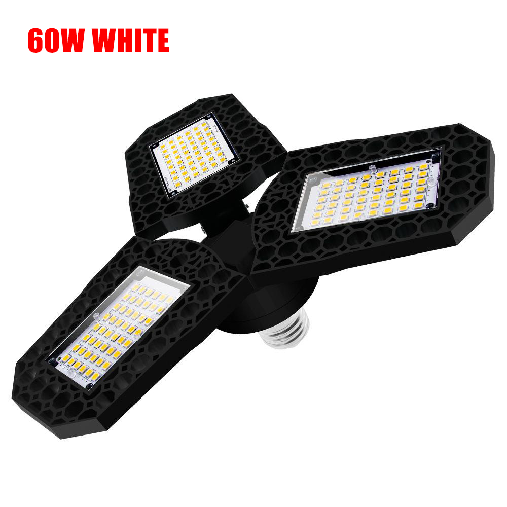 LED LED Light Deformable Garage Work Light Tri-Fold Lamp High Brightnes