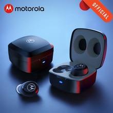 Motorola VB100 Stereo Bluetooth Kopfhörer Wahre Drahtlose Ohrhörer Wasser Widerstand Touch Control Smart Stimme Assistent Headset