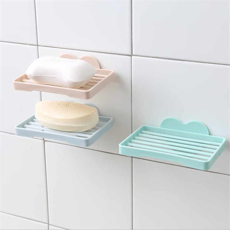 1PC Bathroom Shower Soap Box Dish Storage Plate Tray Holder Case Soap Holder