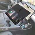 GEN 2 Обновление Tesla Model 3 Y Мобильный телефон Беспроводное зарядное устройство Аксессуары Комплект центральной консоли Горизонтальная зарядк...