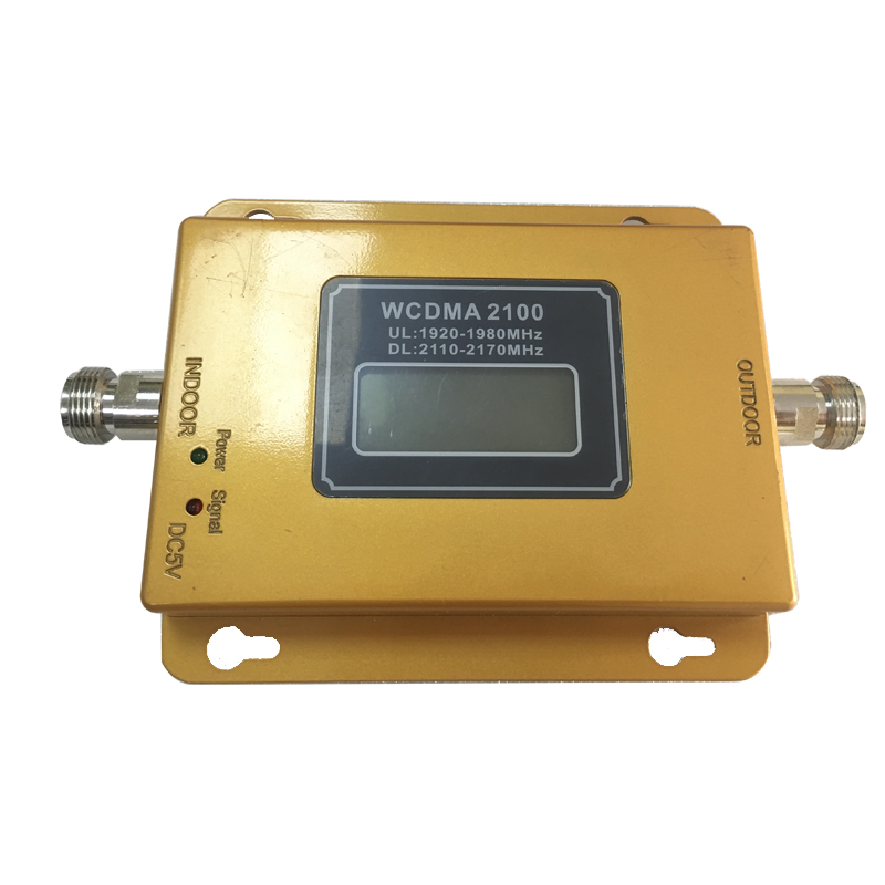 Image 2 - 3G  Repeater 65dB GSM  WCDMA 2100 mhz Cellular Amplifier Mobile Signal Booster WCDMA 2100mhz  Repetidor-in Signal Boosters from Cellphones & Telecommunications