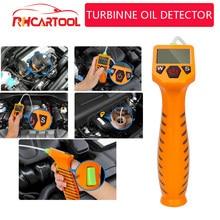 OBD2 Motorolie Tester Voor Auto Controleer Olie Kwaliteit Detector Met Led Display Gas Analyzer Auto Testen Gereedschap Met Optische probe