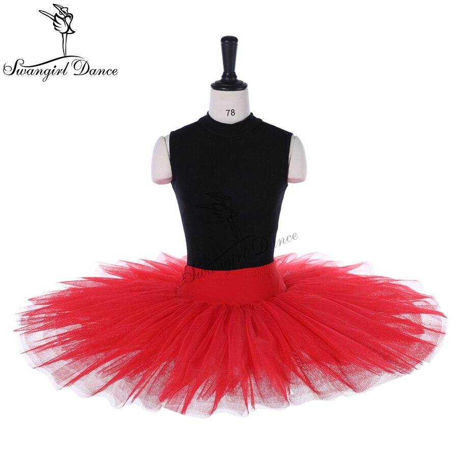 Half Ballet Tutu In Red,half Ballet Tutu For Girls,tutu Skirts Adults,pancake Tutu,BT8923