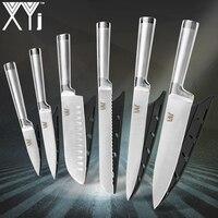 XYj кухонные ножи для чистки утилита сантоку шеф-повара нарезки хлеба из нержавеющей стали нож 8