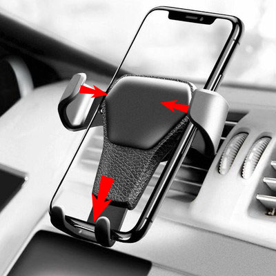 Universal Car Phone Holder For Phone In Car Air Vent Mount No Magnetic Mobile Phone Holder Stand For 4.7