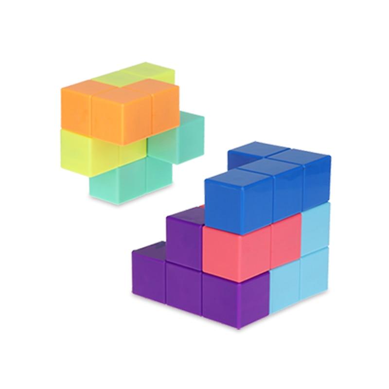 yj diy cubo magnetico blocos de construcao 04