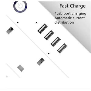 Image 4 - Wifiスマートパワーストリップサージプロテクター4方法アウトレット英国電気プラグソケットusb homekit alexaによるリモートコントロールgoogleホーム