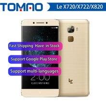 Letv – Smartphone LeEco Le Max 2 X820/ Le Pro 3 X720/X722, Android 6.0, 4G LTE, Charge rapide, identification tactile, prise en Charge de Google playstore, nouveau