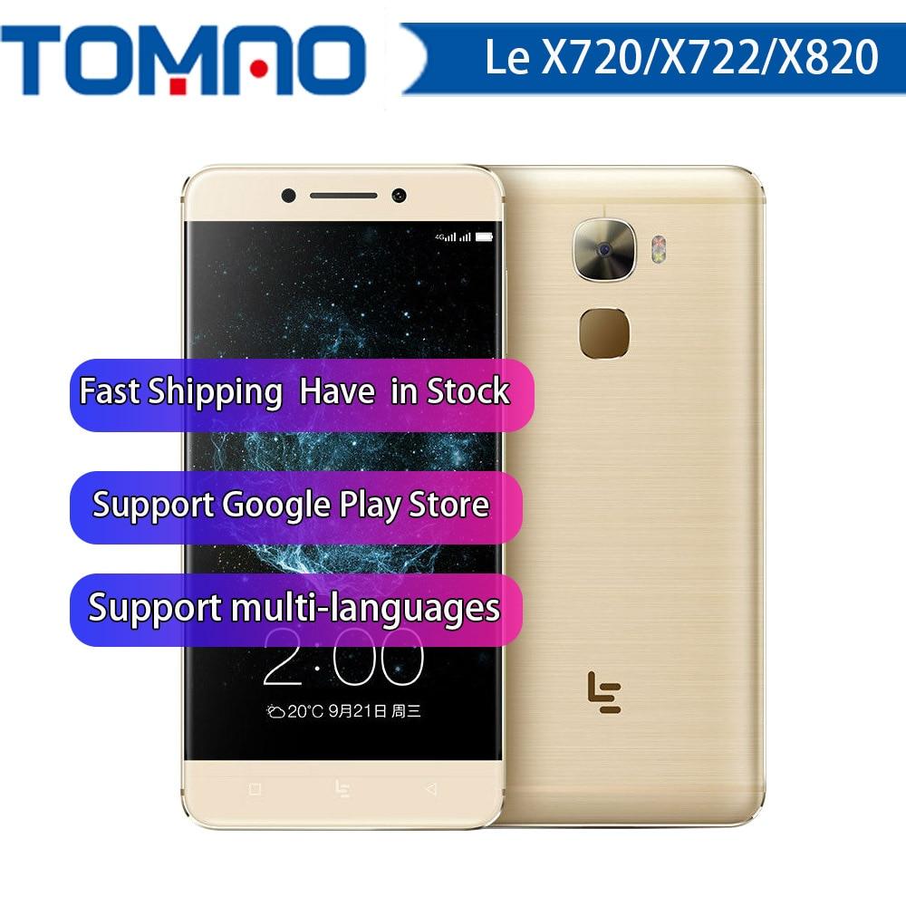 Nuovo Letv LeEco Le Max 2 X820/ Le Pro 3 X720 / X722 Android 6.0 4G LTE Smartphone carica rapida Touch ID Supporto di Google playstore