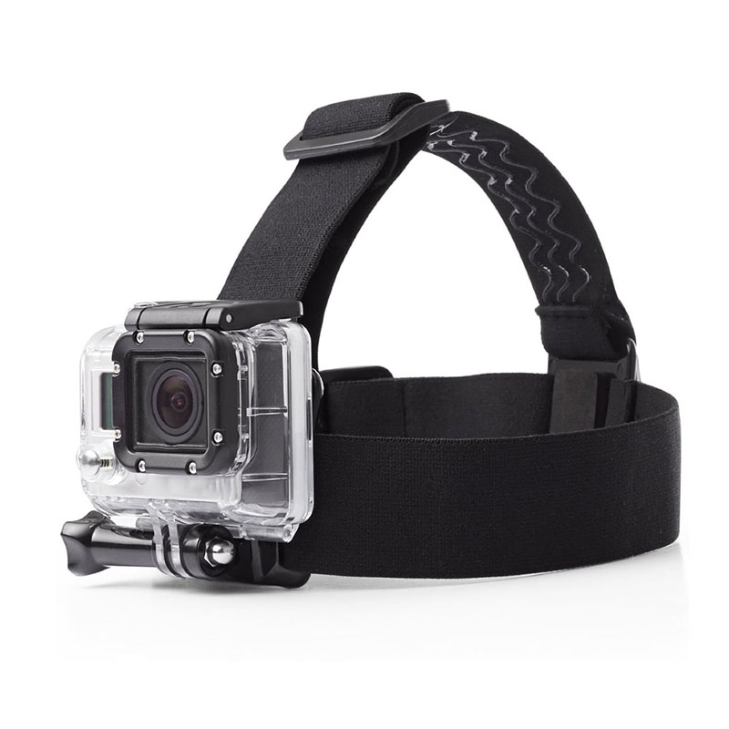 Durable Non-slip Elastic Mount Belt Adjustable Head Strap Band Session Sports Action Video Camera Accessories For Gopro Sport Removing Obstruction