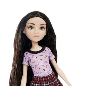 Image 2 - 1/6 ตุ๊กตาสาว 3Dสีเขียวดวงตาสวยผู้หญิงหญิงเสื้อผ้าตุ๊กตาของเล่น