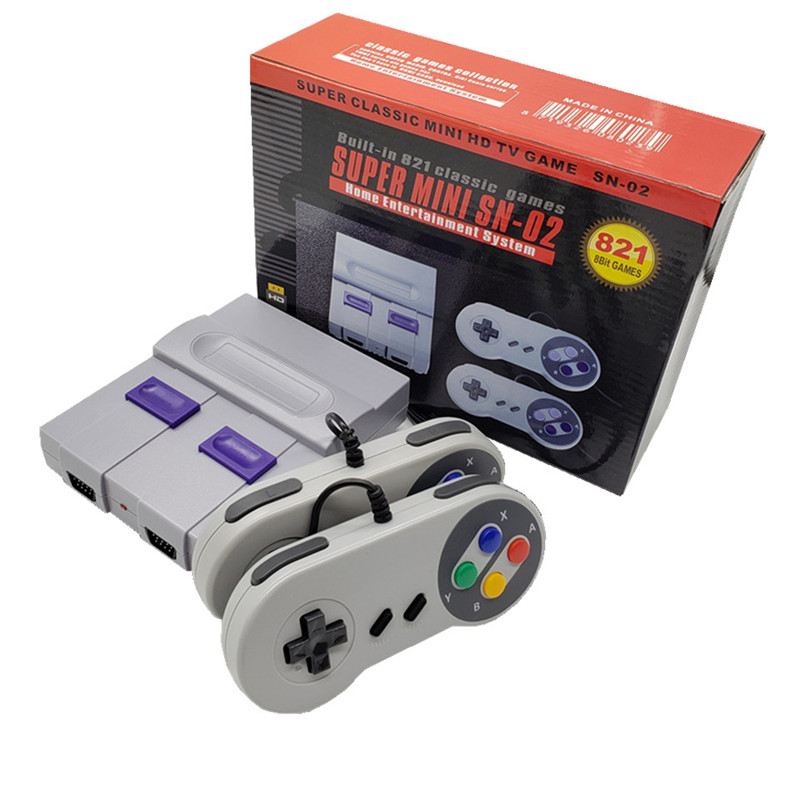 cheapest Built in 568 Classic Games Mini Retro Console Wireless Controller HD Output Dual Players 4K HD Video Game Console