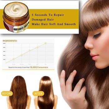 Máscara de tratamiento de cabello suave acondicionador 5 segundos reparación de daños pelo alisado reparación cuidado TSLM2