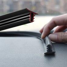Coche estilismo para el panel de mandos insonorizadas sello tira para VW Polo Volkswagen Passat B5 B6 CC Golf 4 6 7 Touran T5 Tiguan Bora Scirocco