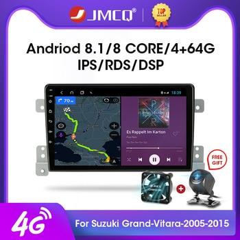 JMCQ 9 Android 9.0 2G+32G 4G+WiFi DSP Car Radio Multimedia Video Player For Suzuki Grand Vitara 2005-2015 Navigation GPS 2 din