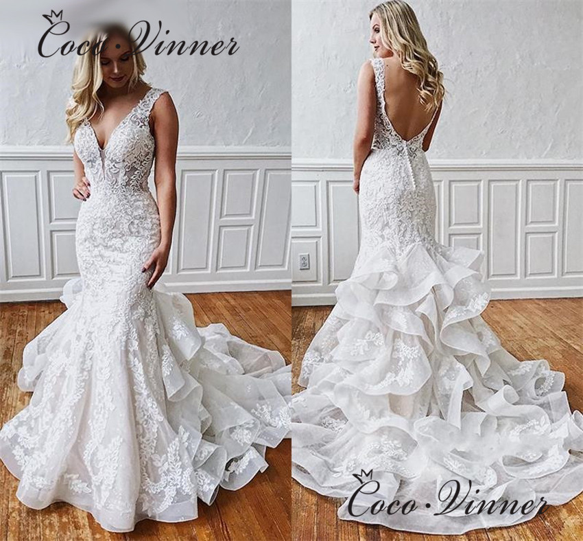 Good And Cheap Products Fast Delivery Worldwide V Neck Wedding Dress On Shop Onvi,Bohemian Beach Flowy Wedding Dress