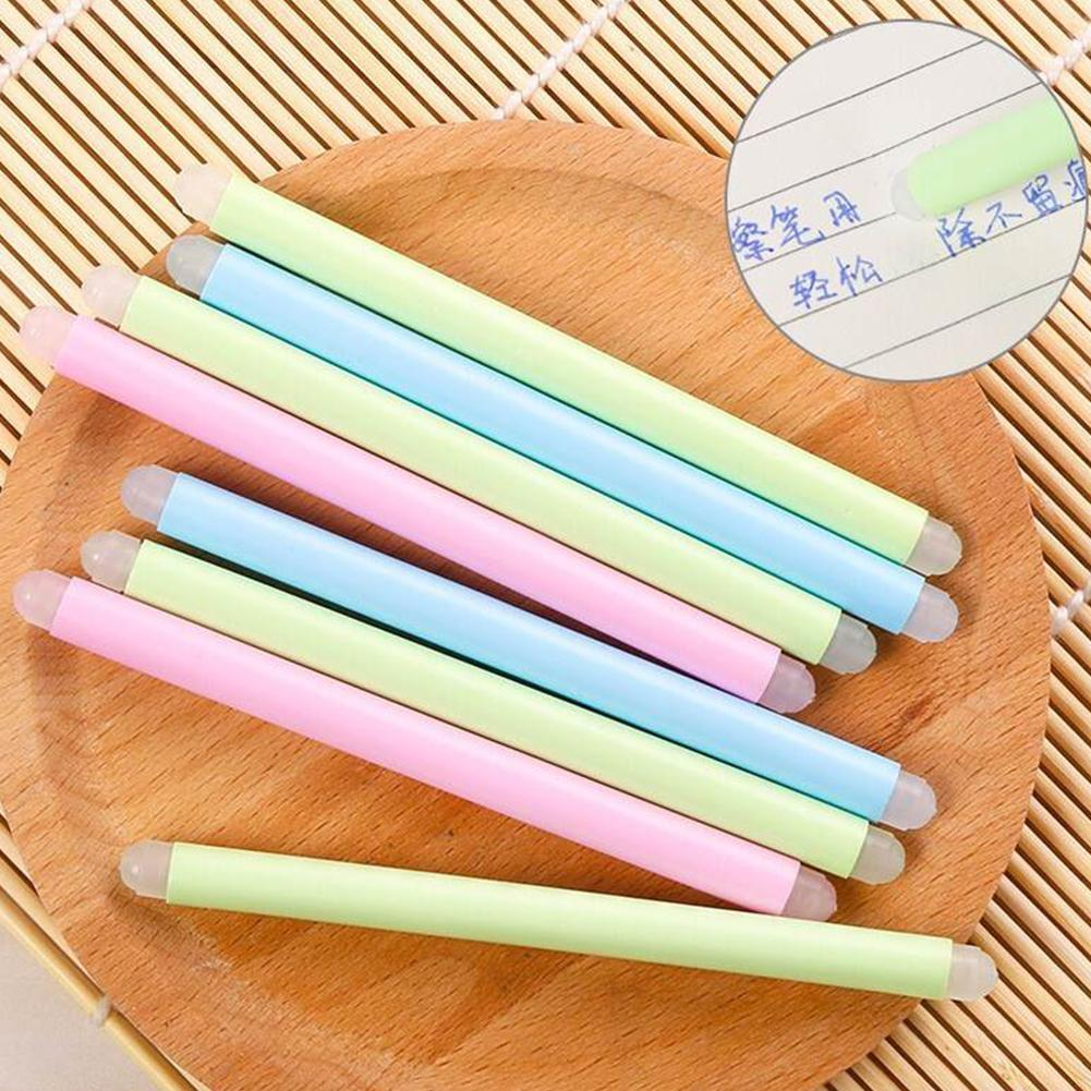 10 Pcs/lot Cute Eraser For Erasable Pens Cartoon Double Head Rubber Erasers For Kids Stationery Gift Pretty Office School Suppli